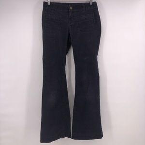 Ann Taylor Loft pants corduroy modern flare blue